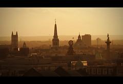 Dusk Across Westminster (edmundlwk) Tags: sunset england london westminster westminsterabbey dusk landmarks trafalgarsquare nationalgallery nelsonscolumn 24105 stmartinsinthefields canon50d thelondoncoliseum edmundlim
