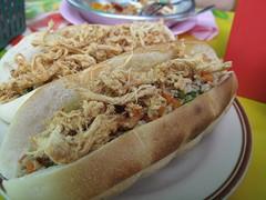 Pork Floss Baguette - Udon Thani, Thailand