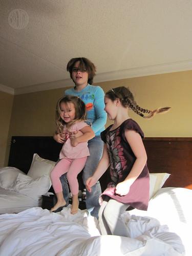 bouncing cousins