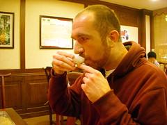 Proper (dragon) way of drinking tea