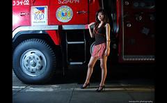 Firestarter (maraculio) Tags: model firetruck erika firestation firestarter pacopark artphotography lastpost maraculio salamatseahawktirongmillanboywander