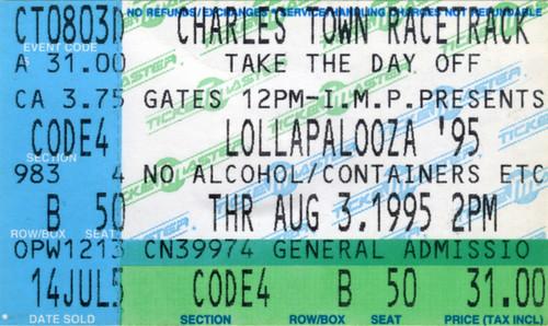 lollapalooza ticket