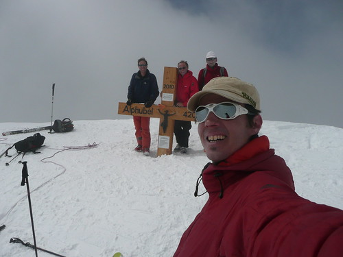 Alphubel, 4000m de Saas Fee