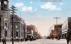 Sudbury - Durham St, looking South from Elm C1920 (363FroodRd / 573PineSt) Tags: sudbury sudburyon