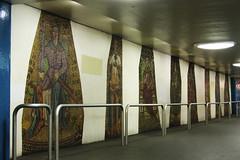 Mozaikengang in U7 Richard Wagnerplatz (Olga and Peter) Tags: berlin berlijn u7 richardwagnerplatz mozak