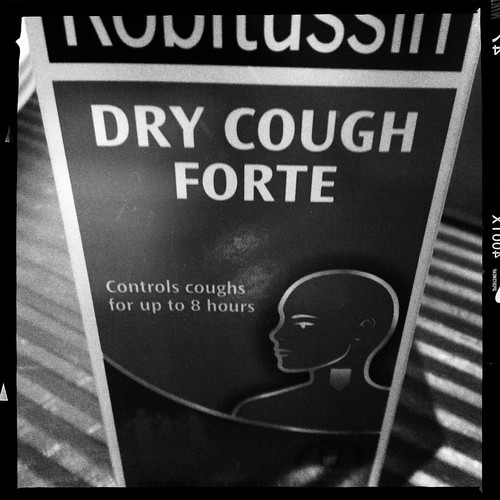 Getting rid of the annoying cough. Day 209/365.