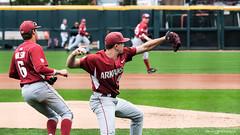 Bryant - Game 3-71 (Rhett Jefferson) Tags: arkansasrazorbacksbaseball grantkoch hunterwilson
