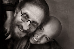 Good moments... (carf) Tags: abandonded risk atrisk streetkids streets streetchildren children child kid kids boy boys poverty impoverished underprivileged forsakenpeople carf gregory hummingbird beijaflor community esperança hope friends friendship brasil brazil socialdevelopment recuperation prevention drugs roney blackwhite bw altruism people portrait monochrome sepia blackandwhite