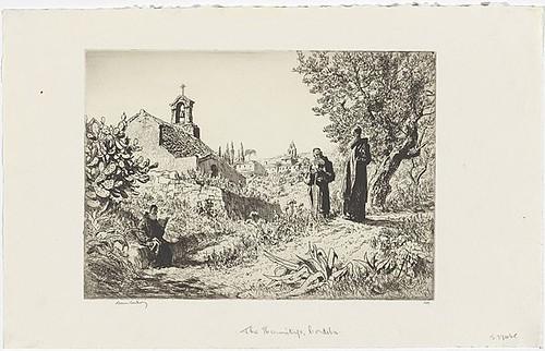 Lionel Lindsay, The hermitage, Cordova (1931).