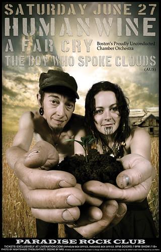 HUMANWINE poster