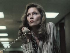 Faye Dunaway as steely entertainment programmer Diana Christensen