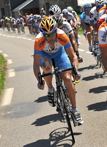 Julian Dean - Tour de France 2009, stage 9