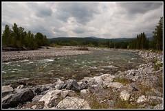 Allen Bill Pond (ruslicus) Tags: wild mountains nature kananaskis pond long exposure allen stones falls filter elbow nd creeks gradual d40 allenbillpond