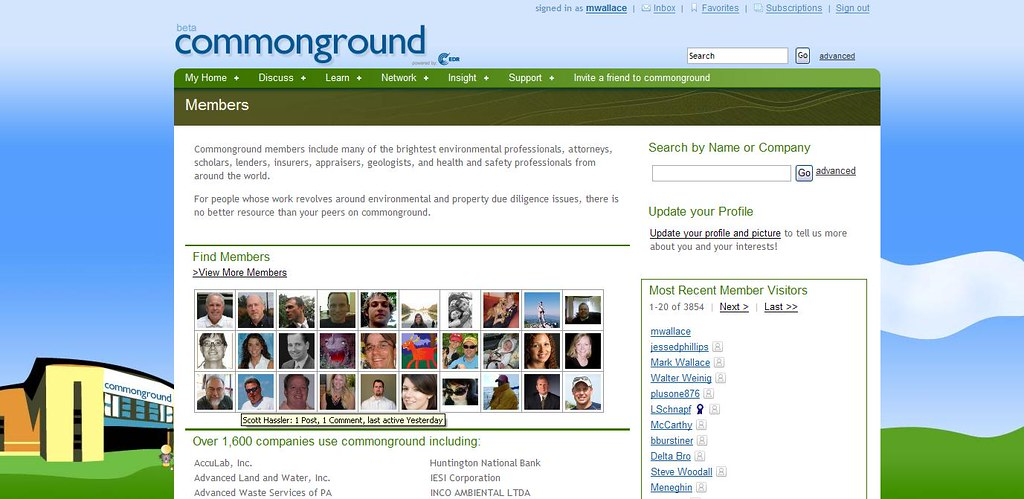 commonground - The Global Community for Environmental Professionals