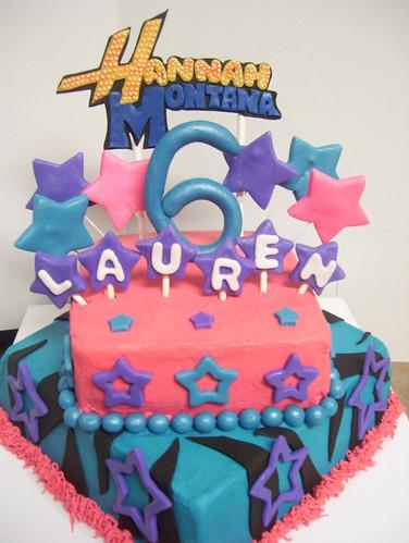 Hannah Montana Cake