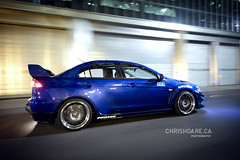 Evolution X Downtown (The Gassed Life) Tags: chris toronto night downtown evolution rig mitsubishi evo hoare evolutionx