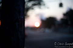 The Sunset in Queens (ChrisGampat) Tags: nyc newyorkcity sunset canon 50mm queens gothamist f18 ef blindphotographers southozonepark 5dmkii