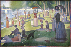 """A Sunday on La Grande Jatte—1884"" by Georges Seurat (mark6mauno) Tags: chicago art la grande george sunday institute canvas oil impressionism seurat jatte 1884 pointillism the theartinstituteofchicago georgesseurat a canonpowershotsx10is asundayonlagrandejatte—1884"