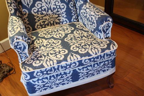 cushion and band at hem