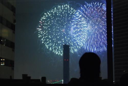 Tokyo Bay Fireworks #3