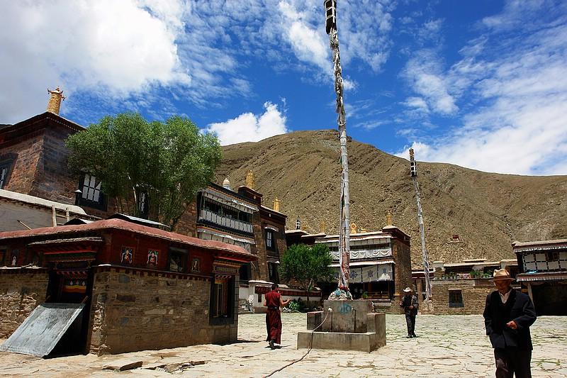 陽光小屋 西藏旅遊 敏珠林寺