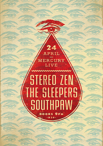 The Sleepers - Stereo Zen - Southpaw - Blood & Tears by Adam the Velcro Suit.