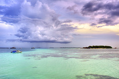 After The Rain (matey_88 ( OFF )) Tags: sea sky nature clouds island nikon colours explore majid maldives matey frontpage mohamed hulhumale d700 uniquemaldives saariysqualitypictures lovely~lovelyphoto