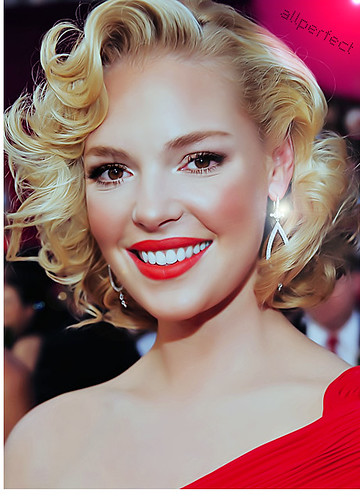 Katherine Heigl, the Marilyn Monroe look