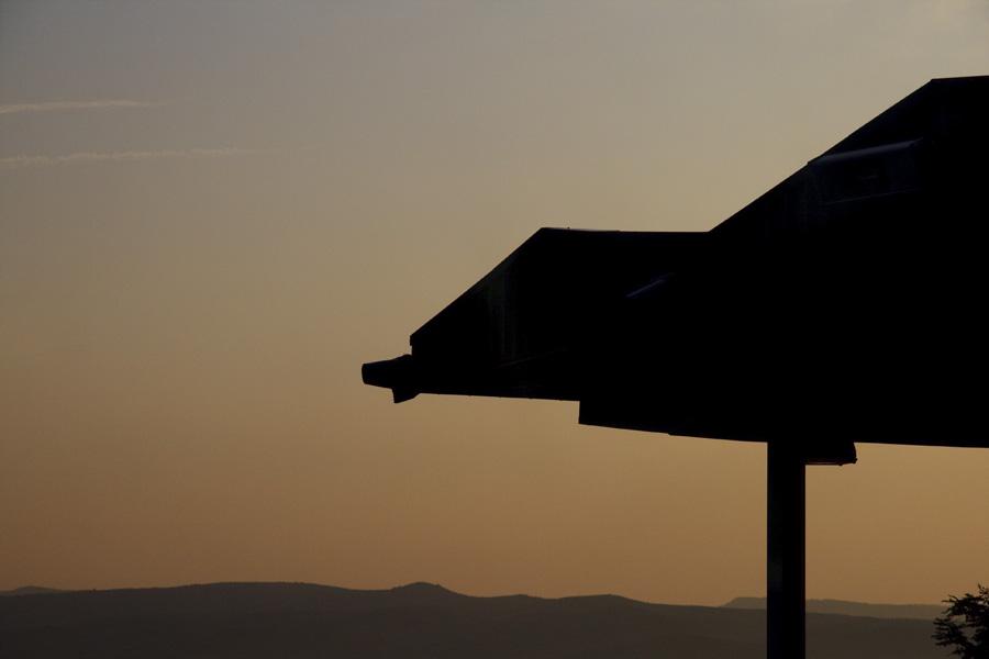 Sunrise over Serbia