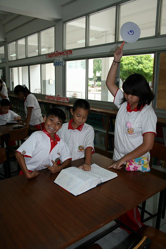 Thai Students Dictionary Race