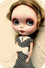 Miss Fit....Adopted! (suzanaity) Tags: ooak blythe freckles custom bohemianbeat