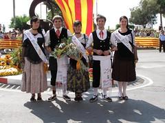 Puvilles i Hereus a la Festa del 11 de Setembre
