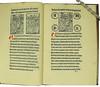 Woodcut illustrations and coloured initials in Vallibus, Hieronymus de: Jesuida seu De passione Christi