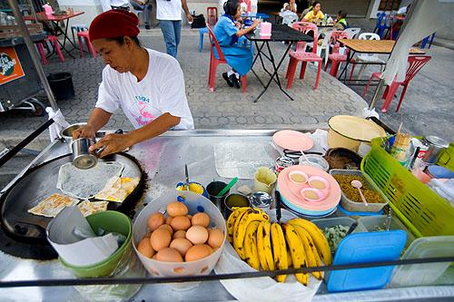 Roti vendor, Songkhla
