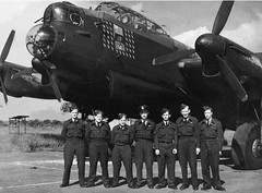 Photo of unidentified Lancaster Bomber No.35 S...