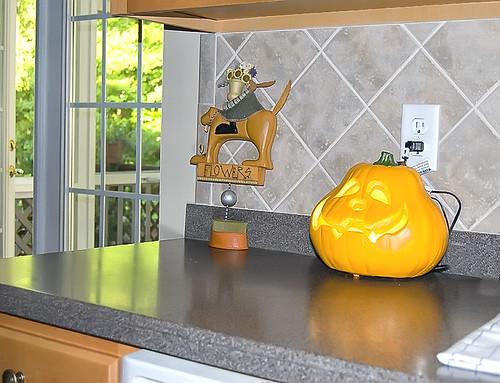 Kitchen pumpkin
