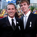 "PFLAG's Jody Huckaby with ""Prayers for Bobby"" star Ryan Kelley"