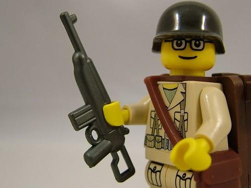 BrickArms custom minifig M1 Carbine