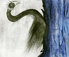 Migracin al pubis azul (Felipe Smides) Tags: animal azul agua drawings migracin vida ave nadar animales draw dibujo medio cisne cuerpo vuelo ambiente nataci