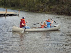 Canoeing at Camp Classen