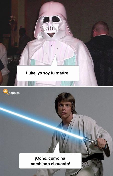 Darth Vader: Yo soy tu padre