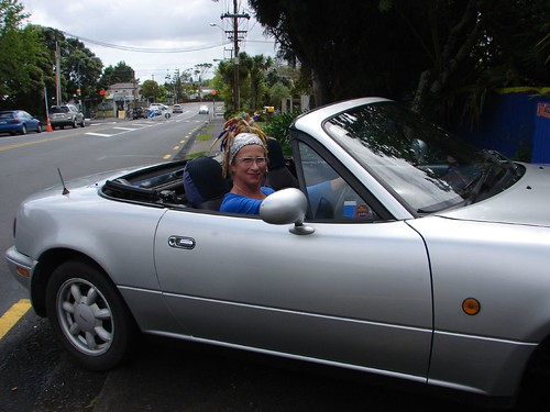 Convertible and the Driver