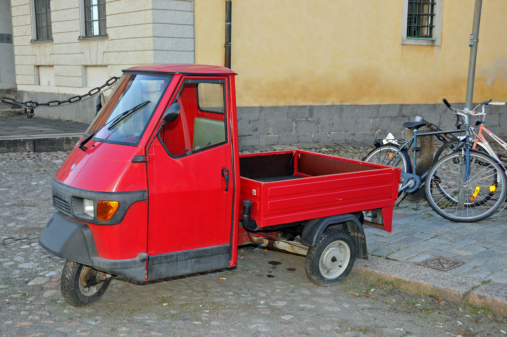 Sweden 0779 - Little Red Wagon - No a Truck