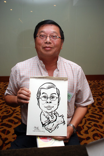 Caricature live sketching for Rheen Manufacturing Company (Singapore) Pte Ltd  - 8