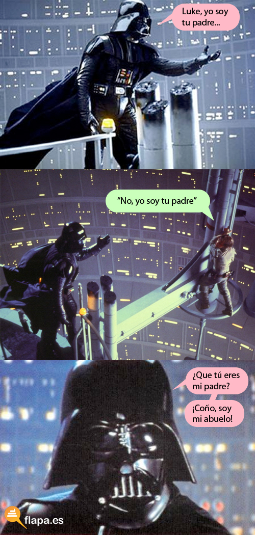 Darth Vader - No, yo soy tu padre