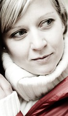 Wishes (cszar) Tags: portrait woman beauty face model eyes nikon christina nikkor 50mmf18d d300 captureone4
