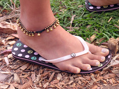 Peace feet (Roving I) Tags: feet fashion peace sydney style australia jewellery thongs symbols jandals anklets casualfootwear