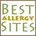 Best Allergy Sites Button