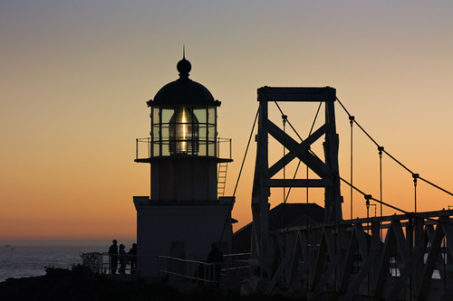 Point Bonita Lighthouse and Suspension Bridge