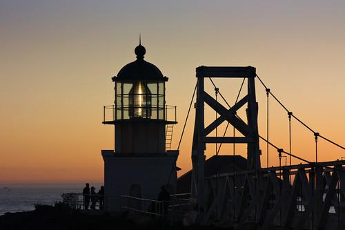 Point Bonita Lighthouse and Suspension Bridge